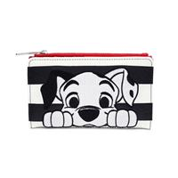 Loungefly Disney by  Wallet 101 Dalmations Striped