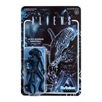 Aliens ReAction Action Figure Wave 1 Alien Warrior Nightfall Blue 10 cm
