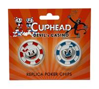 FaNaTtik Cuphead Replicas Devil's Casino Poker Chips