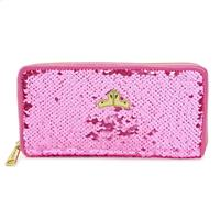 Loungefly Disney by  Flap Purse Sleeping Beauty Reversible Sequin