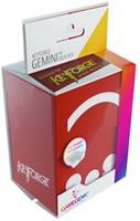 GameGenic Keyforge Gemini Deckbox Rood