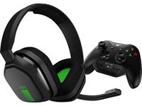 astro A10 + MIXAMP M60 XBO Gaming headset 3.5 mm jackplug Kabelgebonden Over Ear Zwart, Groen