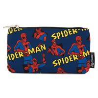 Loungefly Marvel by  Coin/Cosmetic Bag Spider-Man AOP