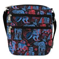 Loungefly Star Wars by  Passport Bag Empire Strikes Back 40th Anniversary AOP