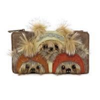 Loungefly Star Wars by  Wallet Ewok Trio