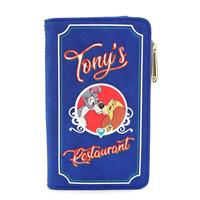 Loungefly Disney by  Wallet Lady and The Tramp Tony's Menu