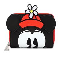 Loungefly Disney by  Wallet Positively Minnie Polka Dots