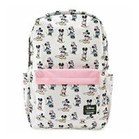 Loungefly Disney by  Backpack Pastel Minnie Mickey AOP