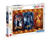 Clementoni Harry Potter Super Color Puzzle Harry, Ron & Hermione