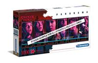 Clementoni Stranger Things Panorama Puzzle Characters