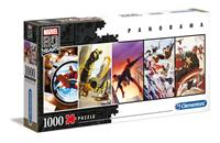 Clementoni Marvel 80th Anniversary Panorama Puzzle Characters