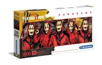Clementoni Money Heist Panorama Puzzle Characters