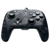 pdp Face-off Deluxe Switch Controller + Audio (Camo Black)