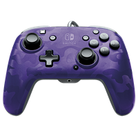 pdp Face-off Deluxe Switch Controller + Audio (Camo Purple)