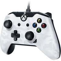 pdp Wired Controller - White Camouflage