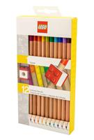 Joy Toy LEGO Coloured Pencil 12-Pack Topper