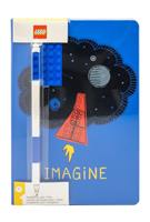 Joy Toy LEGO Notebook with Pen Imagine