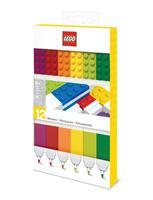 Joy Toy LEGO Felt Tip Pens Set 12-Pieces Bricks