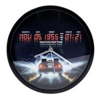 Joy Toy Back To The Future Wall Clock Destination Time