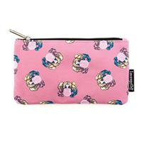 Loungefly DC Comics by  Coin/Cosmetic Bag Harley Quinn Bubble Gum