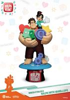 Beast Kingdom Toys Ralph Breaks the Internet D-Stage PVC Diorama Ralph & Vanellope 16 cm