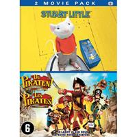 Pirates - The band of misfits + Stuart Little (DVD)