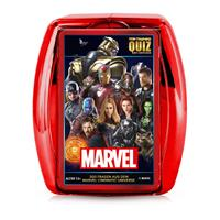 Winning Moves Marvel Card Game Top Trumps Quiz *German Version*