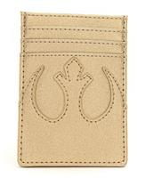 Loungefly Star Wars by  Card Holder Gold Rebel
