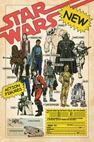 Pyramid International Star Wars Poster Pack Action Figures 61 x 91 cm (5)