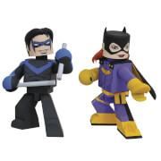 Diamond Select DC Comics Batgirl & Nightwing Comic Vinimate EXC 2 Pack