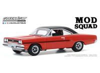 Greenlight Collectibles The Mod Squad Diecast Model 1/64 1970 Plymouth GTX