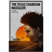 Zavvi Gallery Texas Chainsaw Massacre Limited Edition Fine Art Giclee