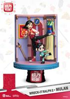 Beast Kingdom Toys Ralph Breaks the Internet D-Stage PVC Diorama Mulan 18 cm