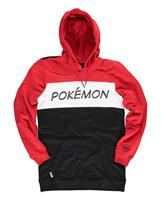 Difuzed Pokémon Hooded Sweater Colour Block Size M