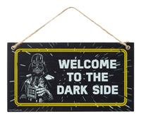 Funko Star Wars Fathers Day Wooden Door Hanger Welcome To The Dark Side