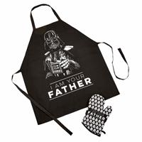Funko Star Wars Fathers Day Apron & Oven Glove Set I Am Your Father
