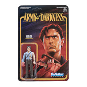 Super7 Army of Darkness ReAction Figure - Ash with Chainsaw Hand Action Figure