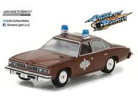 Greenlight Collectibles Smokey and the Bandit Diecast Model 1/64 1977 Sheriff Buford T. Justice's Pontiac LeMans