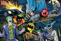 Clementoni DC Comics Supercolor Jigsaw Puzzle Batman (104 pieces)