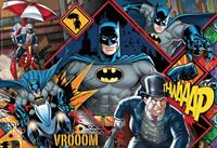 Clementoni DC Comics Supercolor Jigsaw Puzzle Batman (180 pieces)