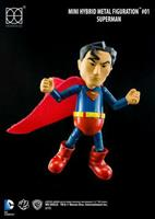 Herocross Justice League Mini Hybrid Metal Action Figure Superman 9 cm