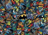 Clementoni DC Comics Impossible Jigsaw Puzzle Batman (1000 pieces)