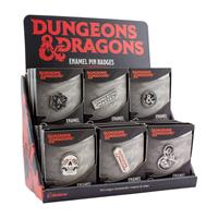 Paladone Products Dungeons & Dragons Enamel Pin Display (18)