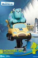 Beast Kingdom Toys Disney Coin Ride Series D-Stage PVC Diorama Monsters Inc. 16 cm