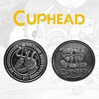 FaNaTtik Cuphead Collectable Coin The Devil, Cuphead & Mugman Limited Edition
