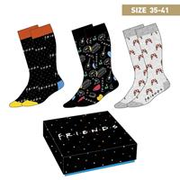 Cerdá Friends Socks 3-Pack Symbols 35-41