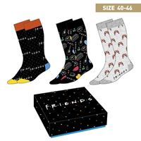 Cerdá Friends Socks 3-Pack Symbols 40-46