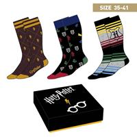 Cerdá Harry Potter Socks 3-Pack Crests 35-41