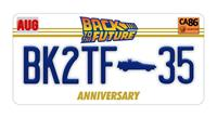 FaNaTtik Back to the Future Pin Badge Limited Edition 35th Anniversary