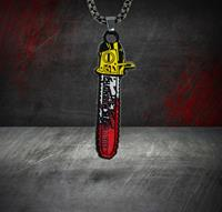 FaNaTtik Texas Chainsaw Massacre Necklace Leatherface Limited Edition